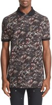 Givenchy 'Monkeys All Over' Print Polo
