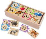 Melissa & Doug Self-Correcting Alphabet Letter Wood Puzzles