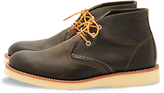 Red Wing Redwing Work Chukka Boots, Charcoal