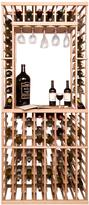 Vinotemp 750ml Bottle Tasting Tabletop Wine Rack Module - 114 Bottles