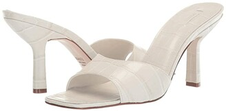 Schutz Posseni (Black New Crocodile) Women's Sandals