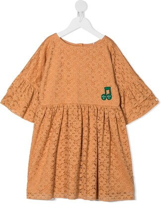 Mini Rodini Lace Frill Dress