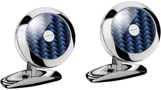 Chopard Stainless Steel and Carbon Fibre Classic Racing Cufflinks