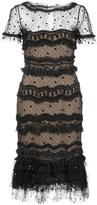 Carolina Herrera 'Trumpet' layered lace dress