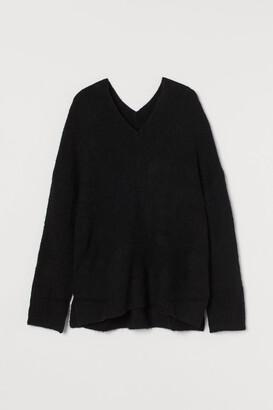 H&M V-neck Wool-blend Sweater