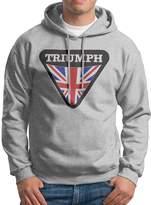 Sarah Men's Triumph-Motorcycle-Logo-For-Mens Hoodie M
