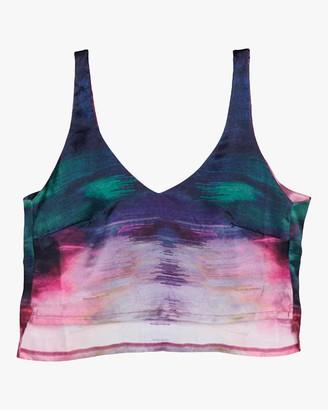 ELSE Maui Cami Tie Dye Cropped Top