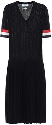 Thom Browne Wool midi dress