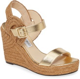 Jimmy Choo Delphi Braided Wedge Sandal