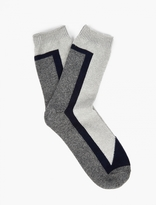N/A Panelled Cotton Socks