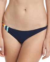 Tory Burch Soul Stripe Hipster Swim Bottom, Blue