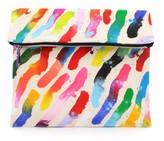 Mude Canvas Clutch - Stripes