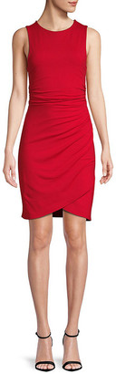 Susana Monaco Gathered Sheath Dress