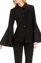 Vince Camuto Women's Bell Sleeve Shirt