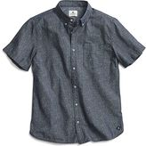 Sperry Camo Wave Print Button Down Shirt