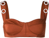 Ack embellished bikini top