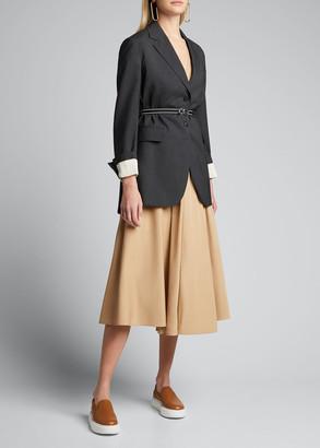 Prada Oversized Wool Suiting Jacket