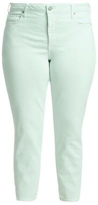 Nydj, Plus Size Ami Skinny Side Slit Jeans