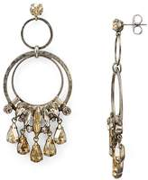 Sorrelli Adorned Hammered Rings Drop Earring - 100% Exclusive