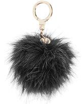 Kate Spade Feather Pom Pom Keychain
