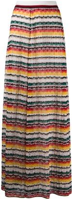Missoni Knit Full-Length Skirt