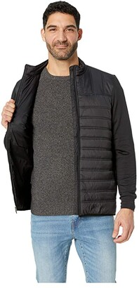 Straight Down Patton Jacket (Black) Men's Coat
