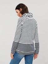 Joules Mayston Funnel Neck Sweatshirt - Cream/Navy