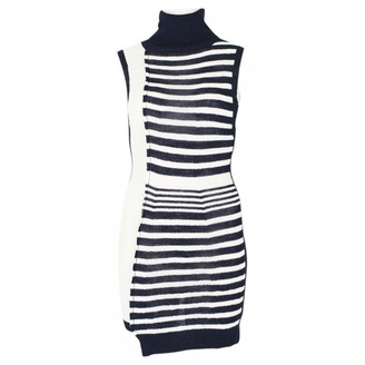 Sonia Rykiel Blue Wool Dresses