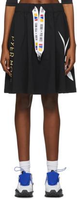 Reebok by Pyer Moss Black Drawstring Skirt