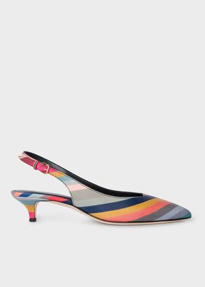 Paul Smith Women's 'Swirl' Leather 'Ozella' Heels