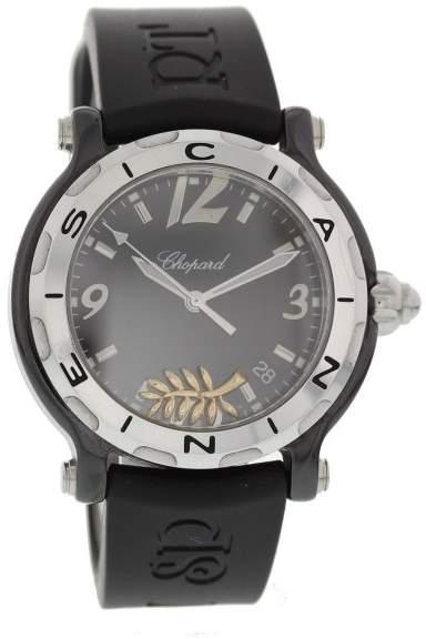 Chopard Happy Sport 28/8507 Ceramic & Rubber Quartz 38mm Womens Watch
