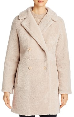 Maximilian Furs Double-Breasted Shearling Coat - 100% Exclusive
