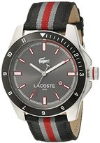 Lacoste Men's 2010810 DURBAN Analog Display Japanese Quartz Black Watch