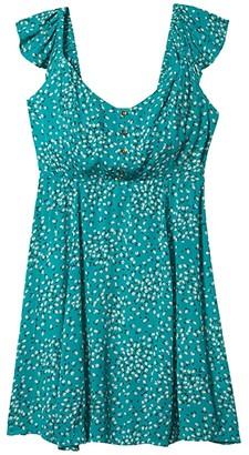 Billabong Forever Yours Dress (Seagreen) Women's Dress