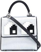 Les Petits Joueurs mini 'Alex Eyes' shoulder bag - women - Calf Leather - One Size
