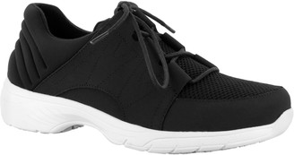 Easy Street Shoes Easy Works by Slip-Resistant Oxfords - Pepper