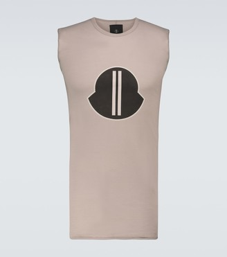 Rick Owens Moncler + short-sleeved T-shirt