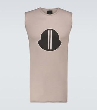 Rick Owens Moncler + sleeveless T-shirt