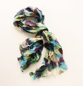 Abstract Watercolor Print Scarf