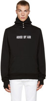 Hood by Air Black Tweek Hoodie