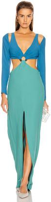 Cult Gaia Priya Dress in Seafoam | FWRD