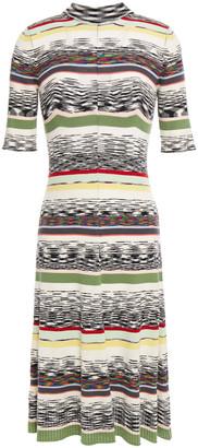 Missoni Ribbed Intarsia Wool Dress
