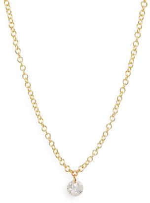 Meira T Diamond Drop Necklace