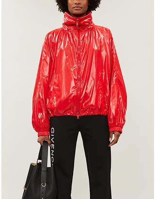 Givenchy Hooded windbreaker jacket
