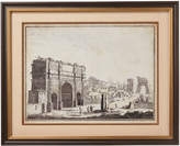 OKA Arch of Constantine West Face Framed Print