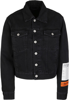 Heron Preston Black Denim Jacket