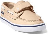 Ralph Lauren Little Kid Batten Leather Ez Boat Shoe