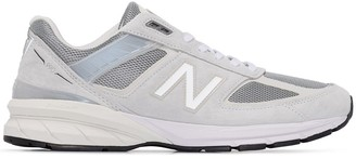 New Balance M990 reflective-detail sneakers
