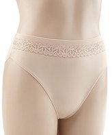 TC Fine Shapewear Wonderful Edge® Micro & Lace Hi-Cut Panty