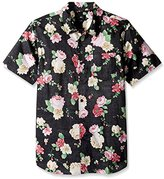 Obey Men's Moku Regular Fit Short Sleeve Woven